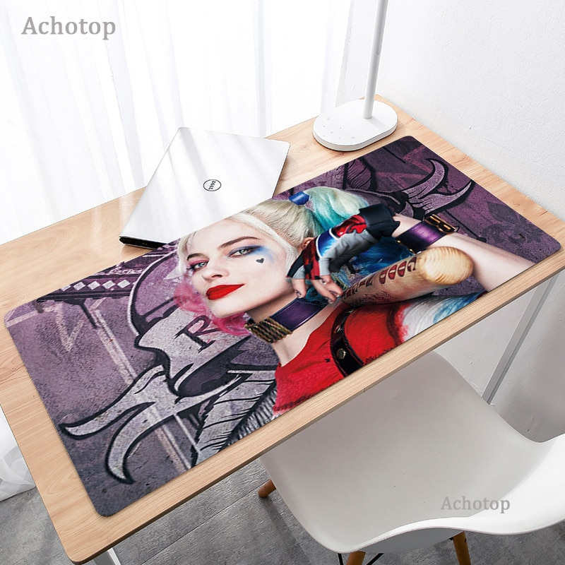 Funny Joker Large Gaming Mouse Pad Computer Mousepad Gamer Gaming Accessories Anime Mouse Mat XL Laptop Desk Mat for CSGO XXL