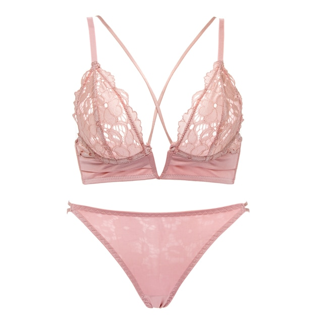 Lace Bra And Panty Set Underwear Lingerie Sexy 4