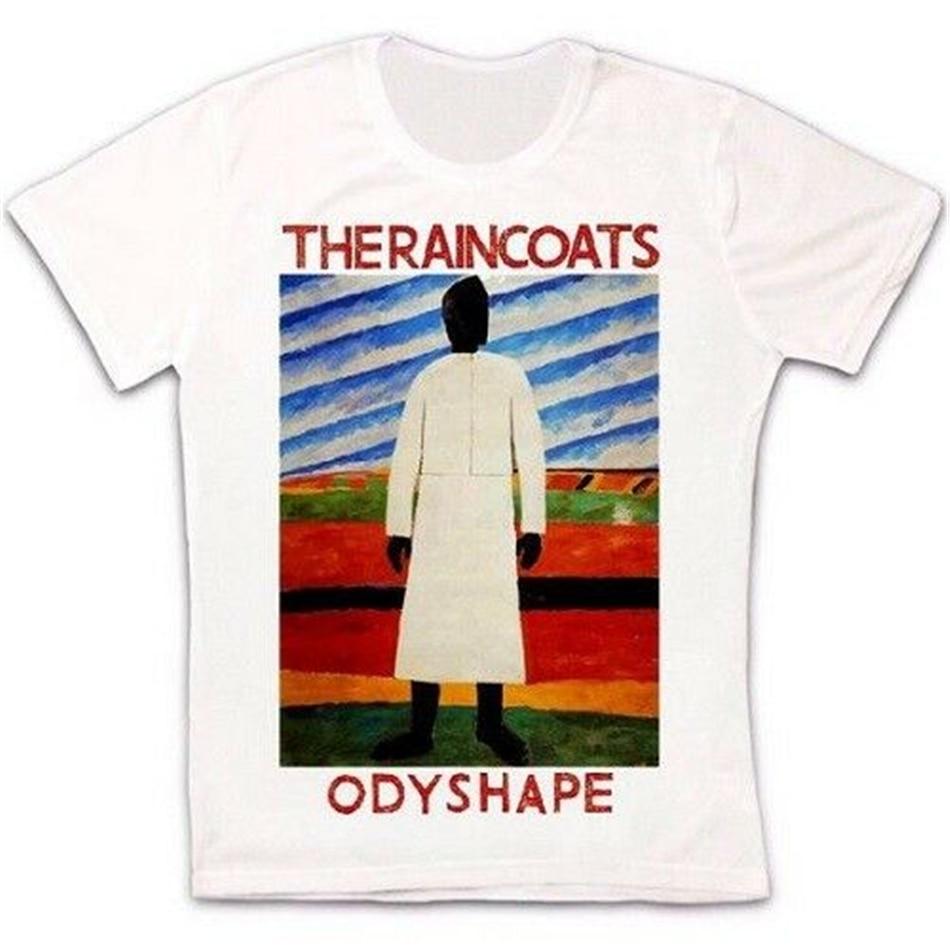 Los impermeables Odyshape Post Punk 80S Retro Vintage Hipster Unisex camiseta 1883 Retro camiseta