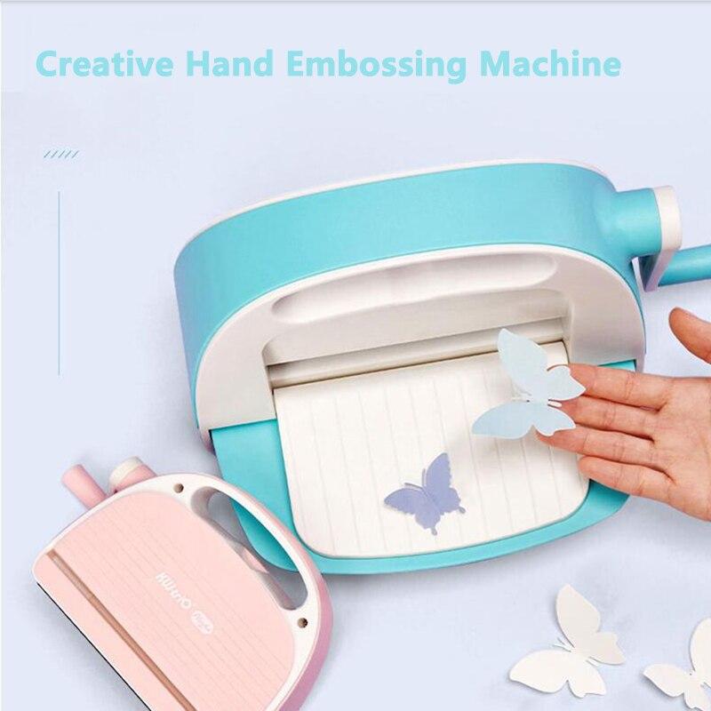 cortador de papel para scrapbooking maquina de gravacao em relevo para etiquetas de roupas
