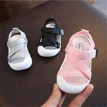 Chaussures dété pour bébés filles et tout-petits   Sandales antidérapantes, chaussures respirantes et douces pour enfants, chaussures Anti-collision, 2019