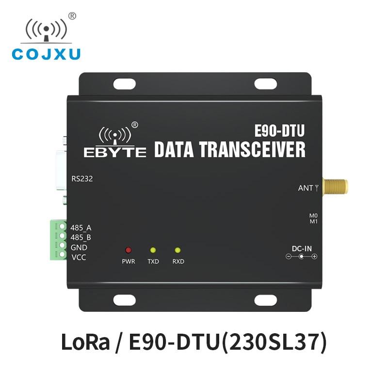 SX1262 SX1268 LoRa 230MHz RSSI Relay Radio Modem Wireless Transceiver COJXU E90-DTU-230SL37 RS232 RS485 37dBm Long Range Module lora wireless module rs232 rs485 433mhz tcxo cojxu e90 dtu 433l30 wireless transceiver long range 8km plc receiver radio modem