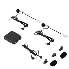 Casque à casque système de communication interphone moto 2 voies casque intercomunicadores de motos MP3 GPS