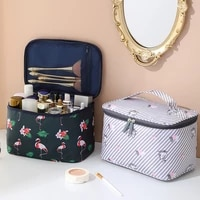 large capacity cosmetic bag travel portable waterproof portable cosmetic case multifunctional double layer wash storage bag