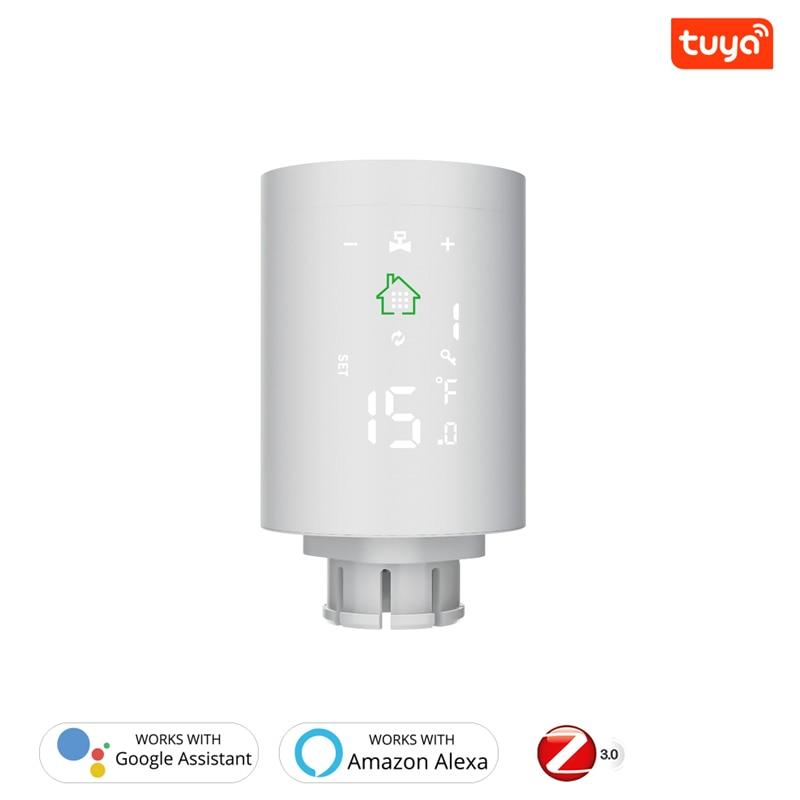 تويا زيجبي3.0 الذكية المبرد المحرك الذكي ترموستاتي المبرد متحكم في درجة الحرارة العمل مع أليكسا الحياة الذكية App