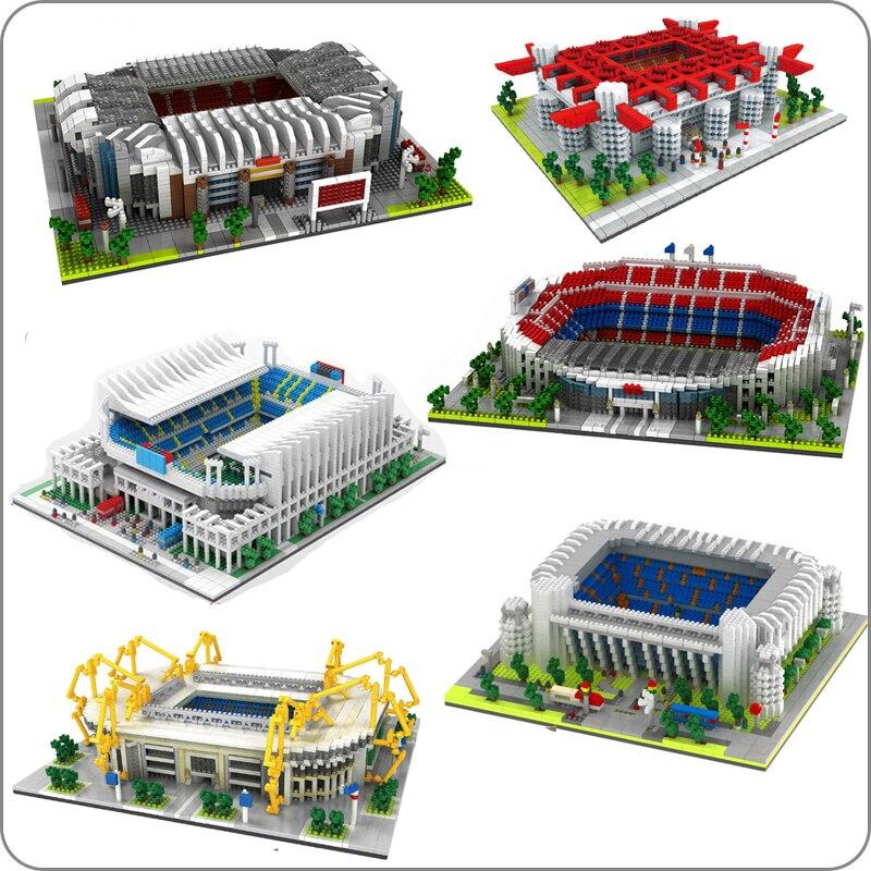 Construcción del Estadio Old Trafford, Nou Bernabeu, San Sir, Real Madrid, Barcelona,...
