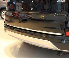 For Honda CR-V CRV 2015 2016 ABS Chrome Rear Door Trunk Lid Below Cover Trim Exterior Molding Stickers
