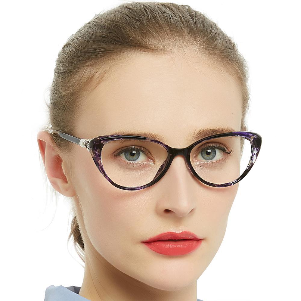Очки для чтения с защитой от синего света женские прогрессивные Мультифокальные
