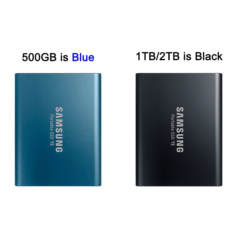 Samsung Portable SSD T5 External Ssd 1tb External SSD Hard Drives 500GB USB 3.1 External SSD Pen Drive Ssd 2TB Drive For Laptop enlarge