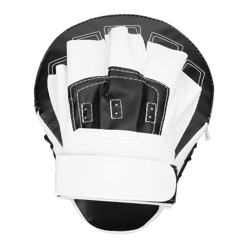 PU Foam Boxing Gloves Pads Hand Target MMA Thai Kick Pad Kit Black Karate Training Mitt Focus Punch Pads Sparring Boxing Bags