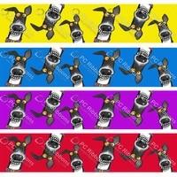 2 christmas greyhound ribbon cartoon galgos dog custom for diy crafts hair bow collar lanyardsatin 3 grosgrain ribbons ca369