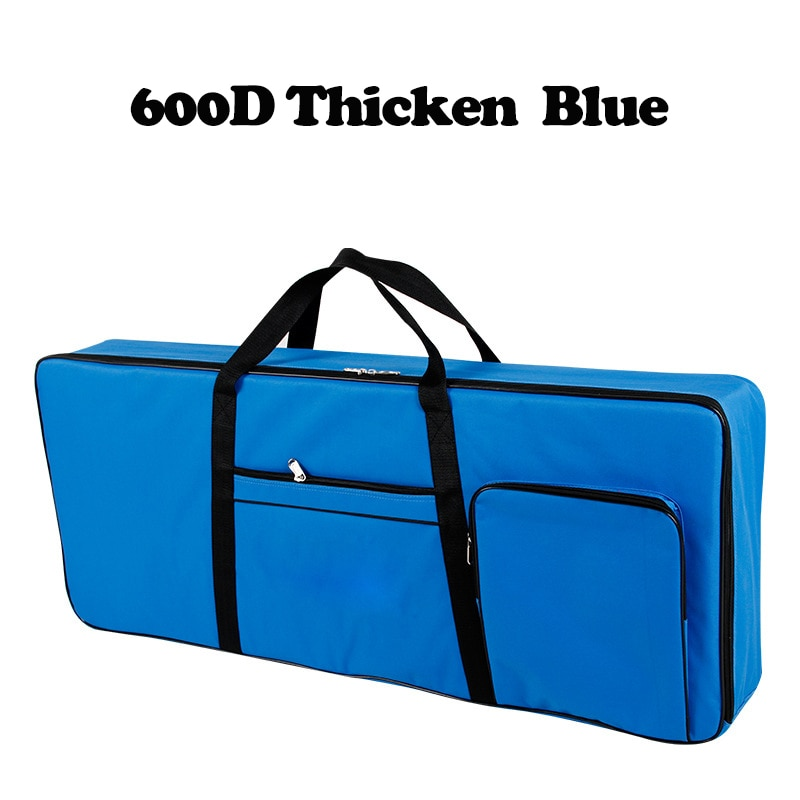 600D Thicker Nylon 61 Key Keyboard Bag Instrument Keyboard Bag Thicken Waterproof Electronic Piano C
