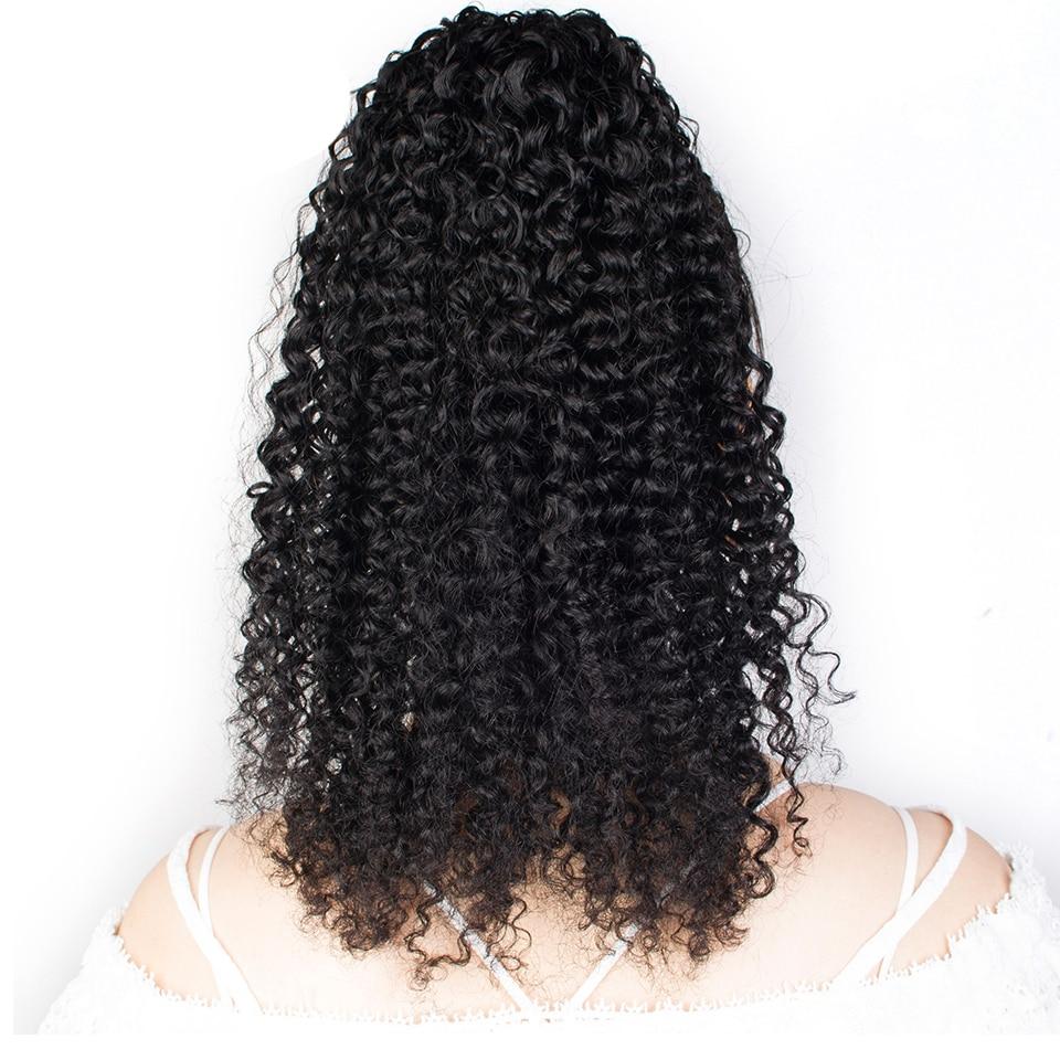 Tinashe الجمال غريب مجعد مجعد الرباط ذيل حصان الشعر البشري الأفرو وصلات شعر بمشابك للنساء ذيل حصان ريمي الطبيعية الأسود