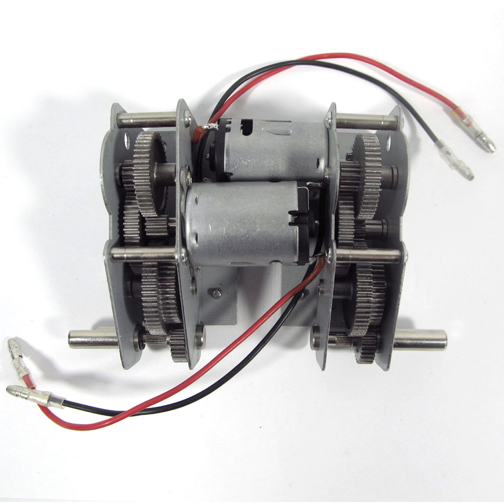 Caja de cambios metálica de acero, caja de motor para Henglong1/161 16 RC Tiger I, Panzer III, IIIH, IV F1, F2 IV, tanque Stug III, 3818/48/49/58/59/68-1