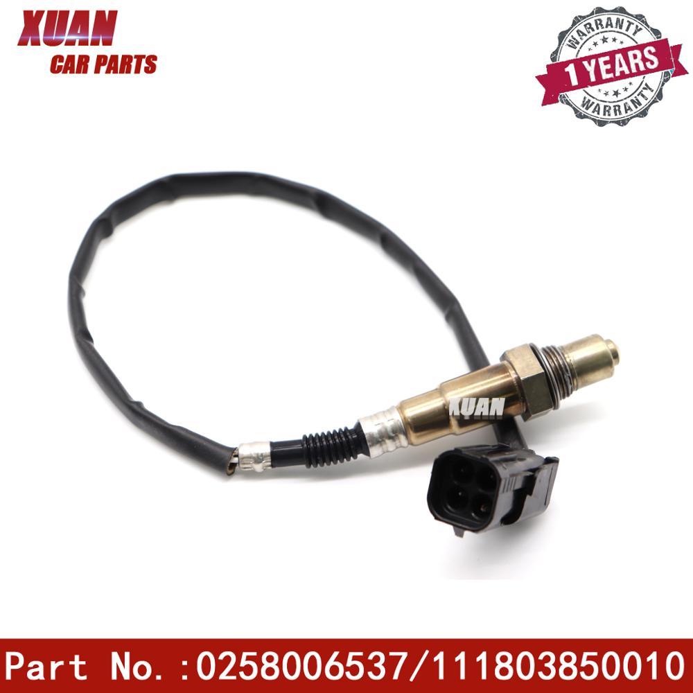 Sensor de oxigênio lambda o2 0258006537 para lada 110 111 112 vega 1.5 1.6 niva ii priora hatchback sedan station wagon