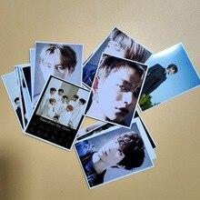 Haute qualité Kpop NCT WAYV nouvel Album reprendre la carte Photo lune Winwin Lucas dix débuts autocollant photocarte 16 pièces/ensemble