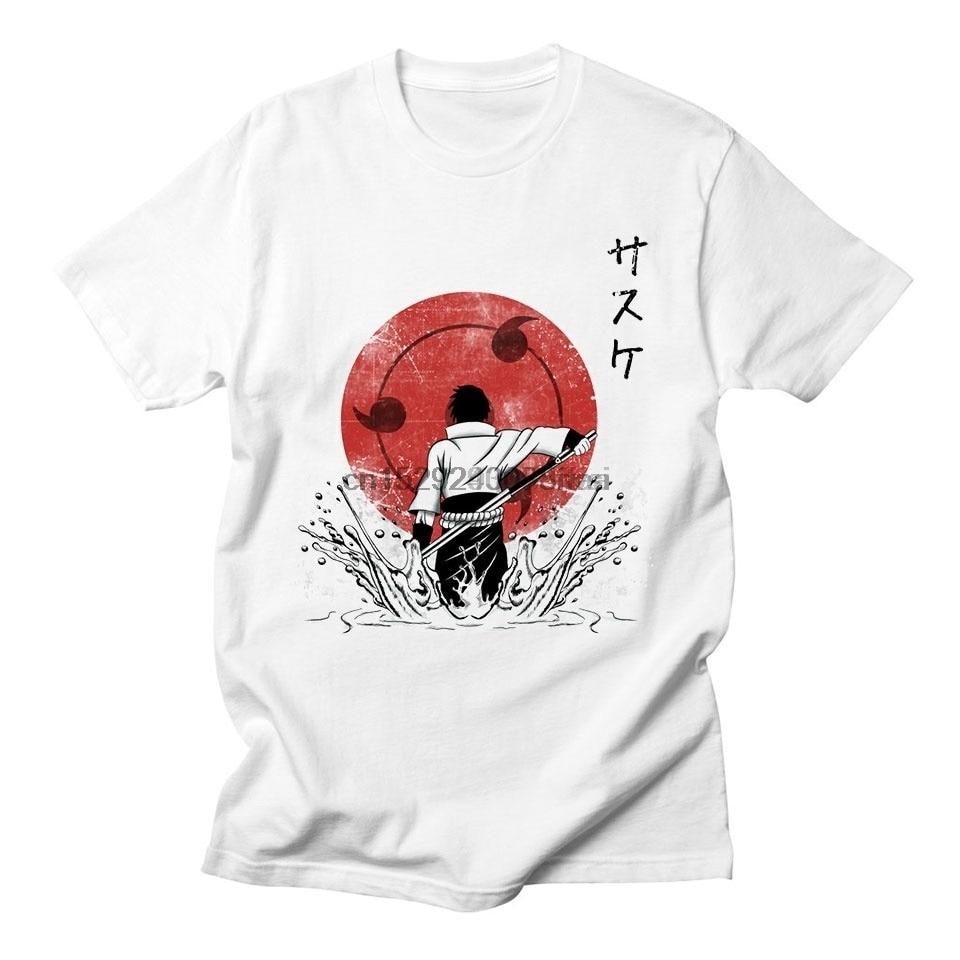Noruto Uchiho Sosuke ond Itochi Tshirt Men Women  onime Quolity Streetweor Tops  Style  Tee Shirt Men #366(2)