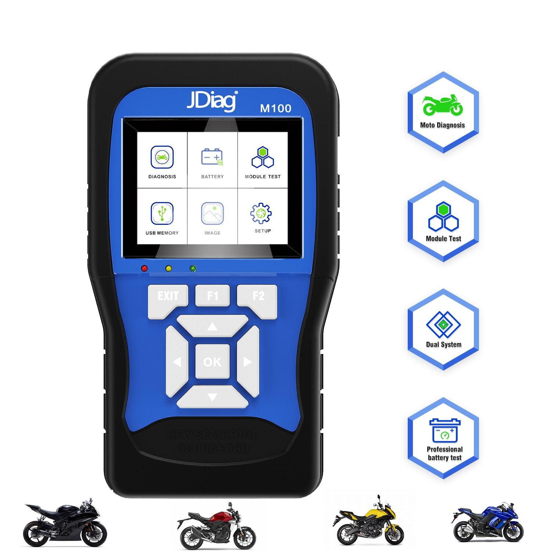 Newest Motorcycle Diagnostic Tool for Kawasaki Yamaha Suzuki Honda KTM Motorbike Multi Language Motor Auto Scanner OBD