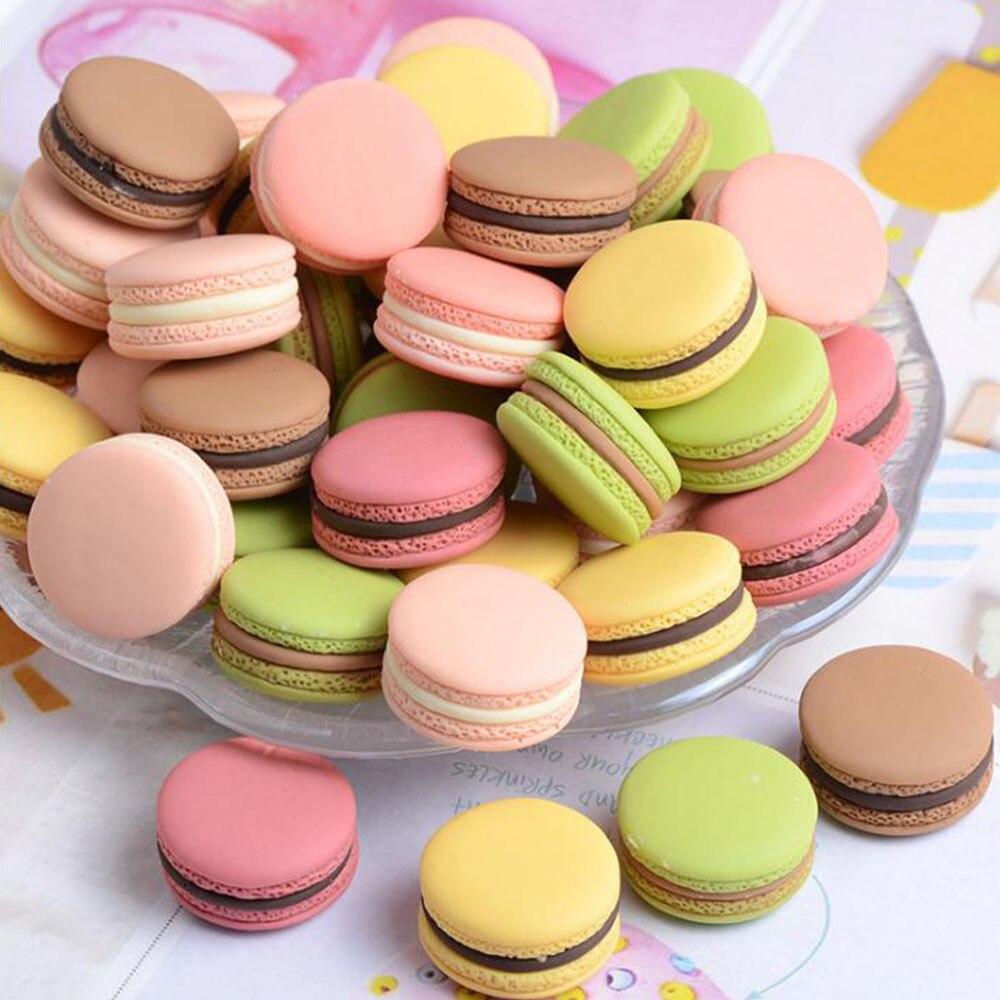 4 stücke lebensmittel fotografie decor Simulation gefälschte macaron requisiten lebensmittel modell dessert tisch snack dekoration künstliche kuchen wohnkultur