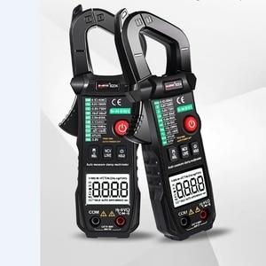 WinAPEX Full Automatic Range Multimeter Precision True RMS Digital Clamp Meter AC DC Voltage Current Temp NVC Multimetro Meter