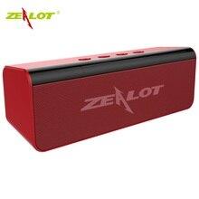 ZEALOT S31 Bluetooth hoparlör taşınabilir Boombox 3D HIFI Stereo kablosuz hoparlör destek TF kartı, USB kalem sürücü, TWS