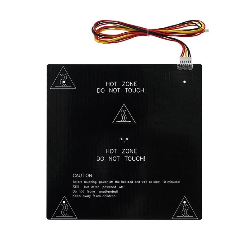 24V 3D طابعة مرتع MK3 التدفئة منصة الألومنيوم لوحة 235X235Xm مع 90 سنتيمتر مرتع سلك ل Ender-3/Ender-3 برو