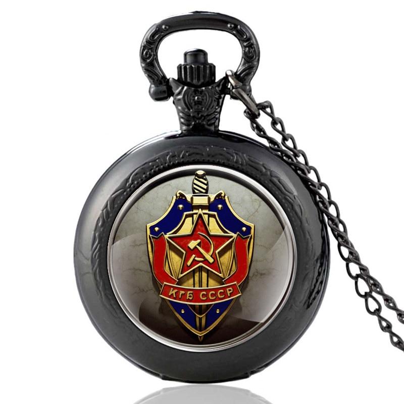 Фото - CCCP KRB Badge Of Honor Pattern Glass Cabochon Vintage Quartz Pocket Watch USSR Men Women Pendant Necklace Hours Clock carol steward badge of honor