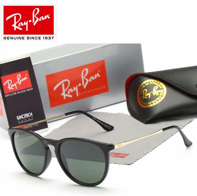 Rayban 2019 Original serie Ferrari gafas de sol protección UV lentes accesorios para hombres/mujeres gafas de sol RB4147