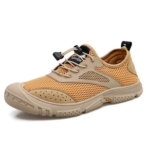 JICHI 2021 Sneaker Male Summer Breathable Mesh Men's Sneakers for Men Shoes Casual Comfort Slip on Chaussure Zapatillas Hombre