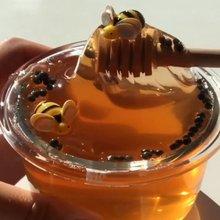 Cristal popular juguetes de barro claro cariño Baba abeja de arcilla de polímero de Baba Lizun pegamento barro limo masilla DIY juguetes antiestrés de barro