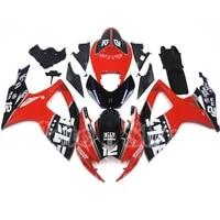 motorcycle fairing for suzuki k6 gsx r gsxr 600 750 2006 2007 small r medium r motorcycle shell motorcycle kit moto accessories