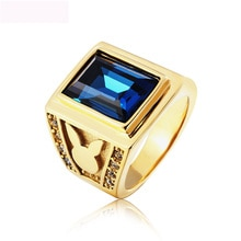 Nouveauté bijoux de luxe anneaux titane acier couleur or R Figner multicolore anneau pour hommes livraison gratuite