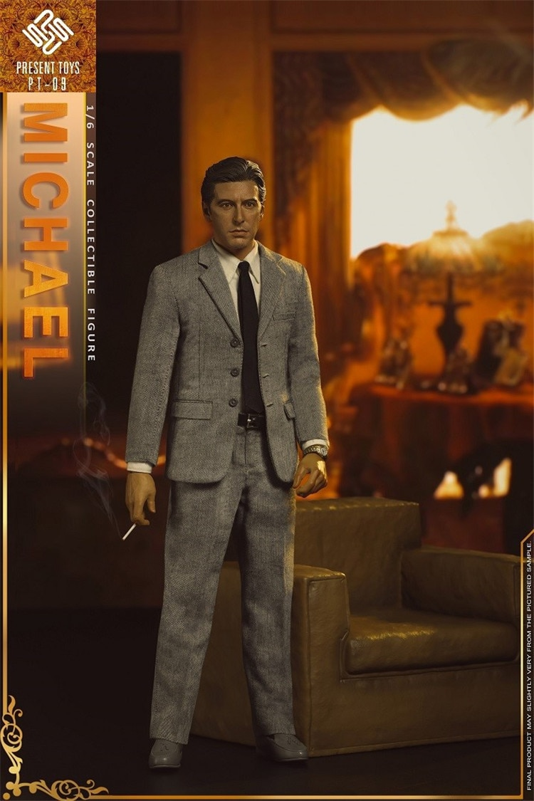 """1/6 Scale Collectible Figurine 12"""" Male Figure Doll The Godfather of Gangster Michael Al Pacino Plastic Model Toys Gift"""