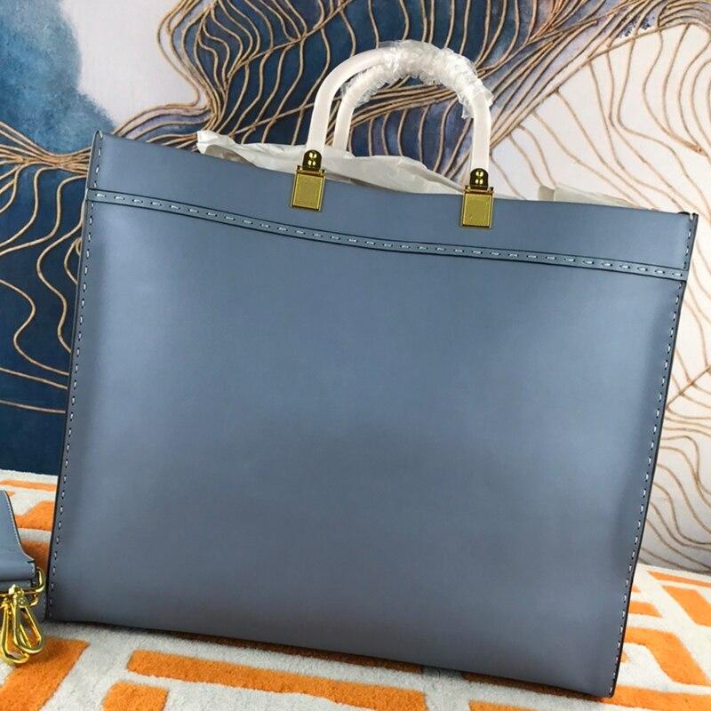 الرجعية اليد مخيط الساخن مختوم رسائل جلد طبيعي حقيبة يد السيدات جديد سعة كبيرة حقيبة كروسبودي حقيبة كتف