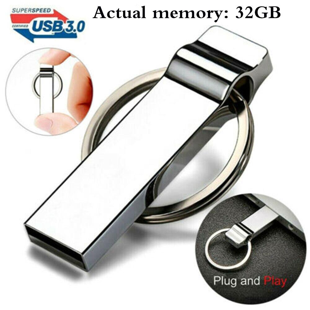 Portable Durable 32G-2TB USB 3.0 Flash Drive Memory Pen Stick High Speed Storage 32G External Storag