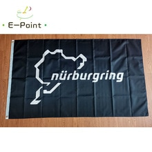 Germany Nurburgring Circuit Flag 2ft*3ft (60*90cm) 3ft*5ft (90*150cm) Size Christmas Decorations for