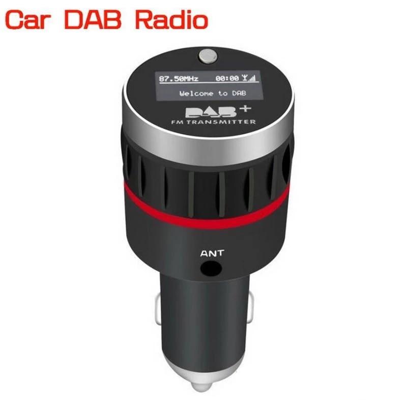 Sintonizador de Radio Universal para coche, receptor DAB + con transmisor FM,...