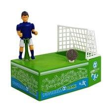 Soccer Shooting Coin Bank Football Money Saving Storage Pot Piggy Bank Automatic Coin Grabing Eating Money Saving Box