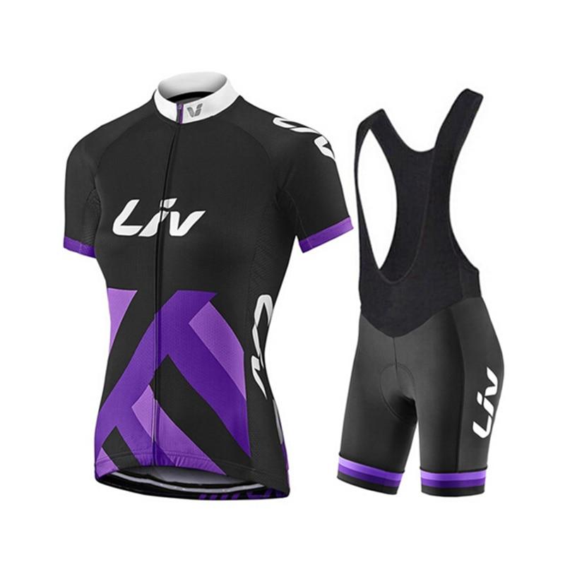 Nuevo LIV mujer pro ropa para equipo de ciclismo mujer maillot ciclismo...