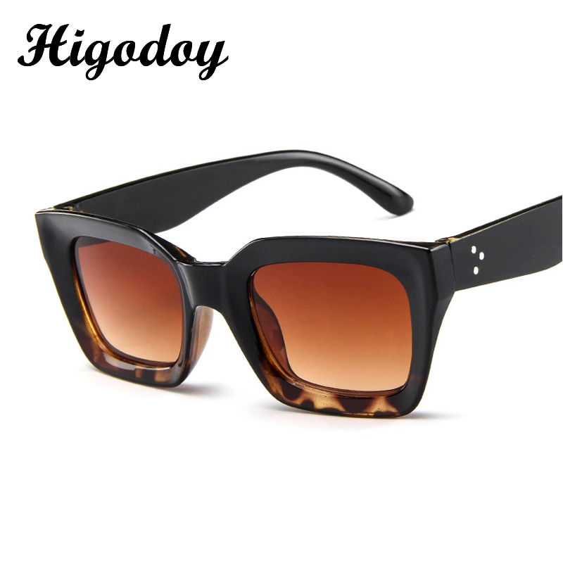 Higodoy Retro Square Women Sunglasses for Men Classic Goggle Vintage Luxury Sun Glasses High Quality Fashion 2019 Oculos