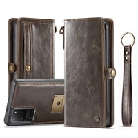 luxury fashion phone case for samsung galaxy s20 plus retro genuine leather magnetic wallet bag for samsung note 20 ultra cover