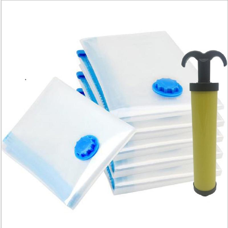 AliExpress - 1/5pcs Air Vacuum Bag for Clothes Quilt Storage Bag with Valve Foldable Dustproof  Moistureproof Reusable Storage Organizer