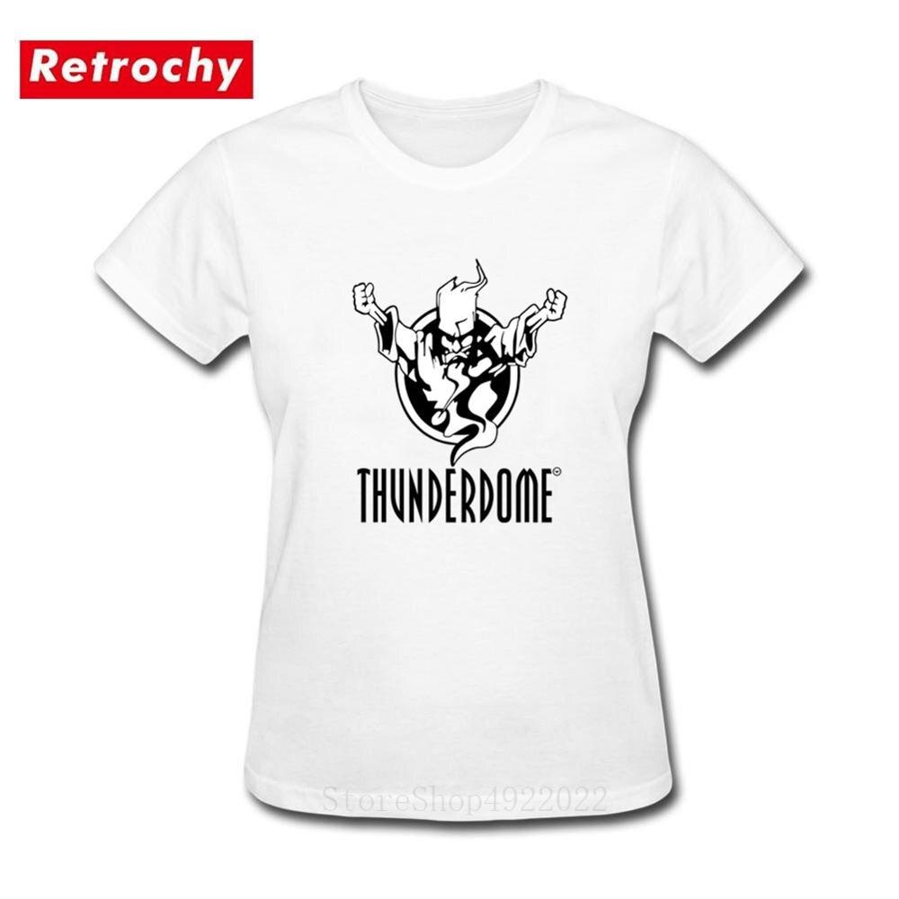 Original série de ouro autêntico wizard thunderdome t-shirts feminino thunderdome hardcore tshirt algodão manga curta casual t camisa