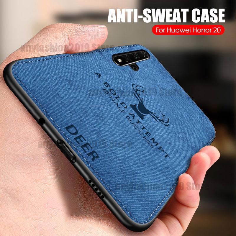 Tuch Telefon Fall Für Huawei P40 Lite P20 P30 Pro Nova 7 SE 7i 5 Abdeckung Honor 9A 4T pro 30S 30 Pro 20 9X P30 P20 Lite 2019 Fall