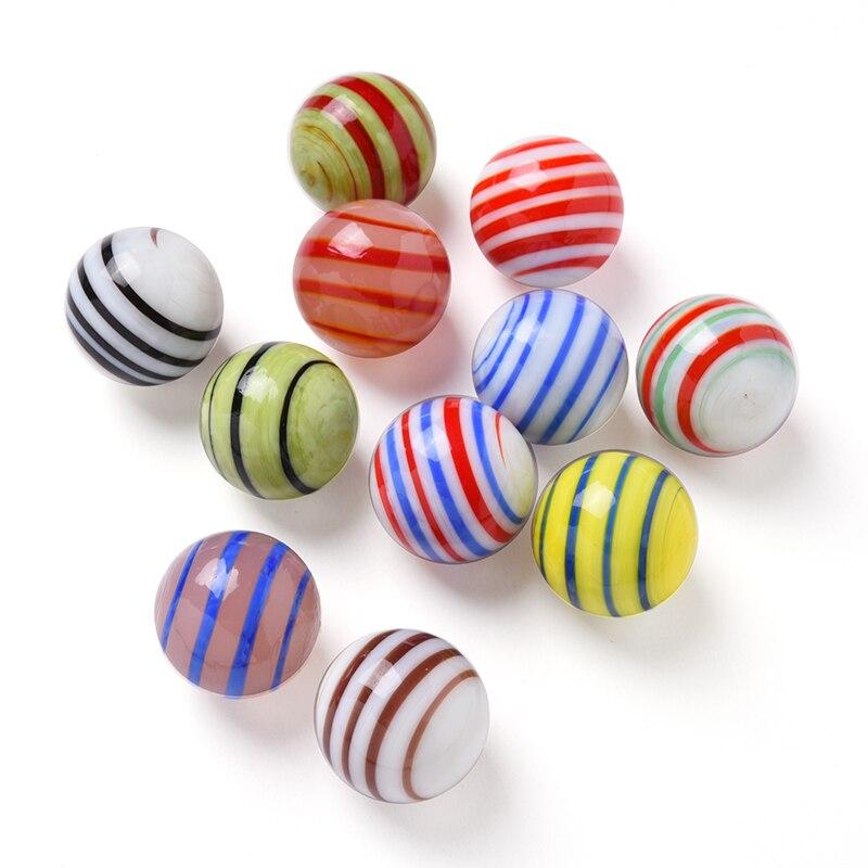 11 шт., стеклянные шарики, 20 мм