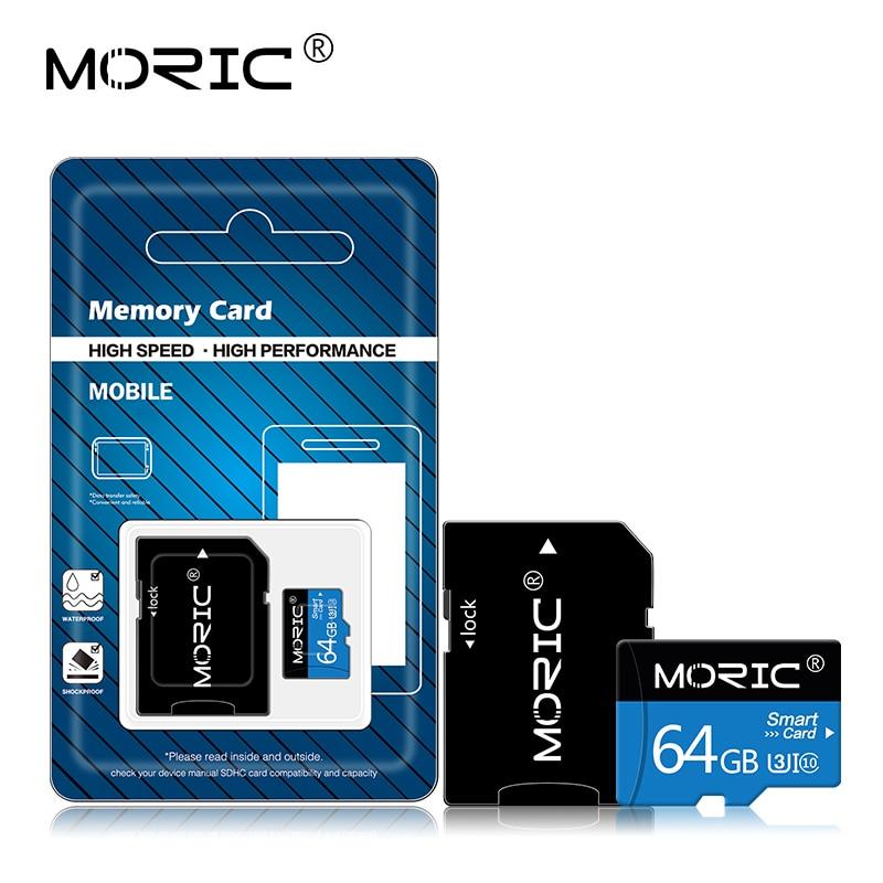 Moric-tarjeta Micro SD, Original de Clase 10, tarjeta Flash SD/TF, tarjeta de memoria cartao de 4GB 8GB 16GB 32GB 64GB 128GB 256GB