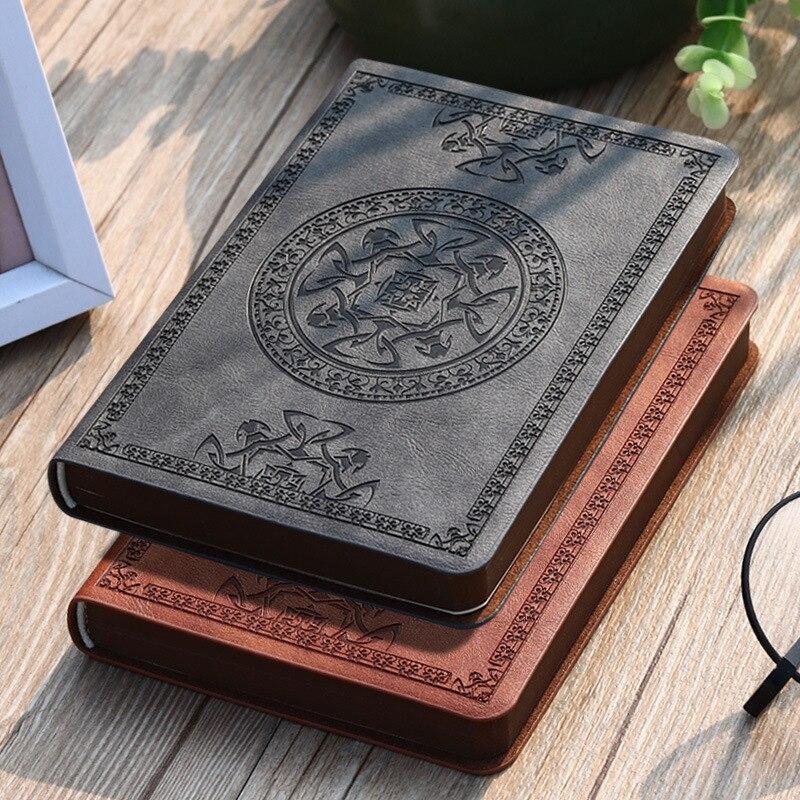 «Mystic», карманный дневник из искусственной кожи, винтажный журнал для путешествий, блокнот для бизнеса, маленький блокнот Freenote