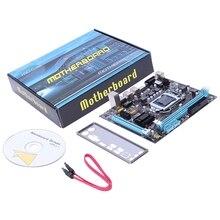 PPYY NEW -Professional Motherboard H61 LGA 1155 DDR3 RAM USB 2.0 Board Support Core I3 I5 I7 Quad CPU Dual Channel Desktop Compu