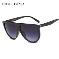 oec cpo vintage square sunglasses women brand oversize acetate fashion sun glasses female men designer retro glasses uv400 o65