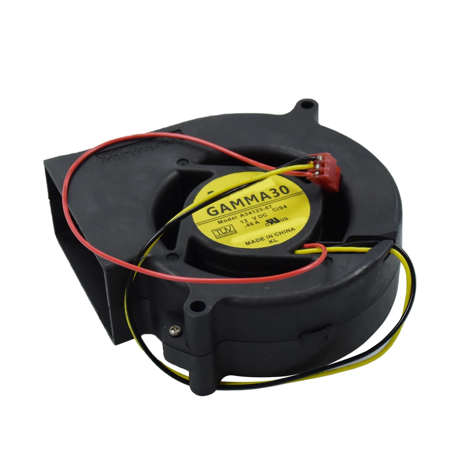 Для Nidec GAMMA30 A34123-57 12V 0.46A для Cisco 3550 3560 2960 охлаждающий вентилятор